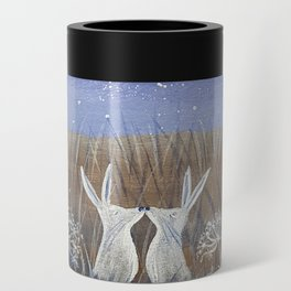 Hares and the Crescent Moon Can Cooler