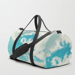 Teal Sky Duffle Bag
