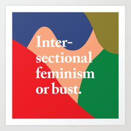 Intersectional Art Print