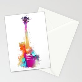 Funky Guitar Stationery Cards