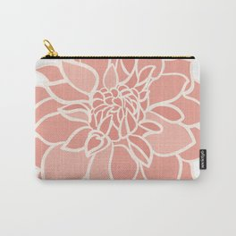 Dahlia flower Carry-All Pouch