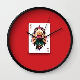 King of Diamond Wall Clock