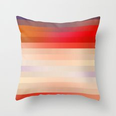 Sun Stripe Throw Pillow