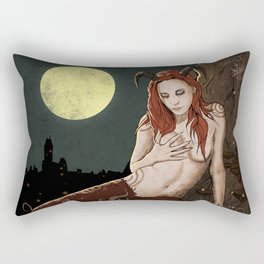 Witcher Succubus Rectangular Pillow