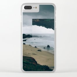 The Tide (I am).  Clear iPhone Case