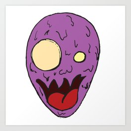 Alien Thing???? Art Print