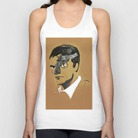 quentin tarantino Tank Tops featuring Quentin by Gabby Grife | GuinArt
