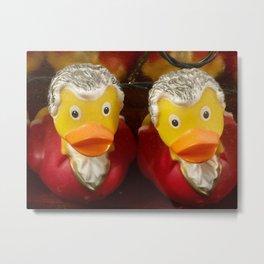 Mozart Duckie Metal Print