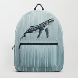 Watercolour Humpback Whale Backpack
