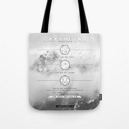 1 corinthians 2:9 Tote Bag