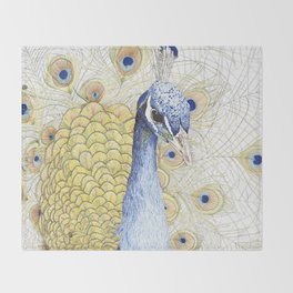 The Peacock Throw Blanket