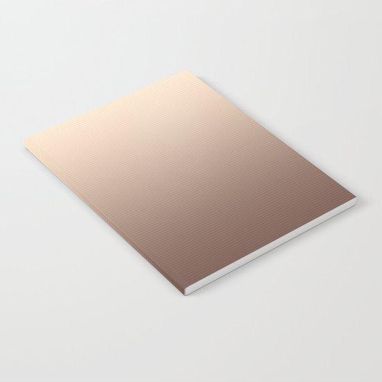 RoseGold Stripes Notebook