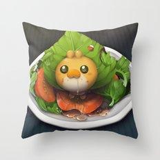 Pokemon Salad Throw Pillow