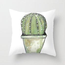 Cactus cirkel Throw Pillow
