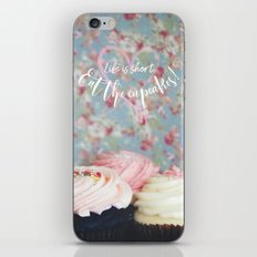 Eat the Cupcakes! iPhone Skin