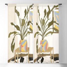 The Plant Room Blackout Curtain