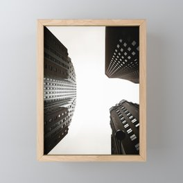 Skyscrapers Framed Mini Art Print