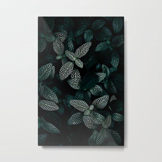 Dark Leaves 3 Metal Print