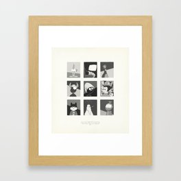 Super Mercredi Bros Heroes (4/8) Framed Art Print
