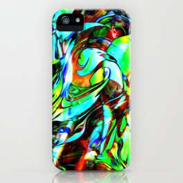 Fluid Painting 3 iPhone Case