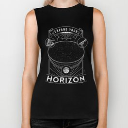 Expand Your Horizon  (Astronomy) Biker Tank