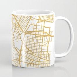 JERSEY CITY NEW JERSEY STREET MAP ART Coffee Mug