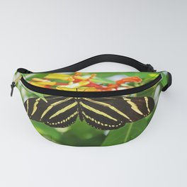 Striped Heart Fanny Pack