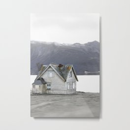 A home in Norway Metal Print