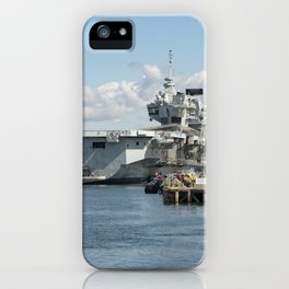 Pompey aircraft carriers  iPhone Case