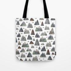 Little Mountain Range Tote Bag