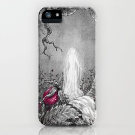 The lady of winter iPhone Case