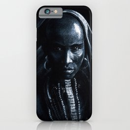 Beautiful african iPhone Case