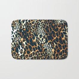 Leopard Spotted Animal Print Bath Mat