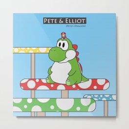 Pete & Elliot (Pete's Dragon) Metal Print