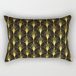Berlin Art Deco Ornate Pattern Rectangular Pillow