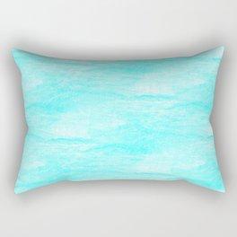 Turquoise sky Rectangular Pillow