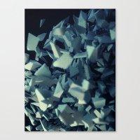 fault Canvas Prints featuring Fault by MRfrukta