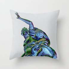 Goddess of Versailles Throw Pillow