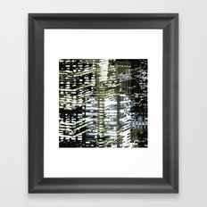 Night City 2 Framed Art Print