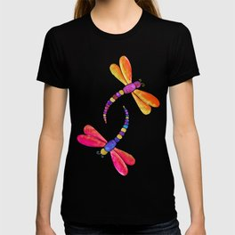 Dragonfly duo - warm pallette T-shirt