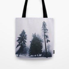 Alone in December Tote Bag