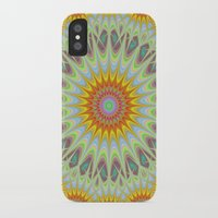 sun iPhone & iPod Cases featuring Sun by David Zydd - Colorful Mandalas & Abstrac
