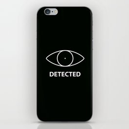 Detected - Skyirm iPhone Skin