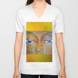 Buddhas Eyes Unisex V-Neck