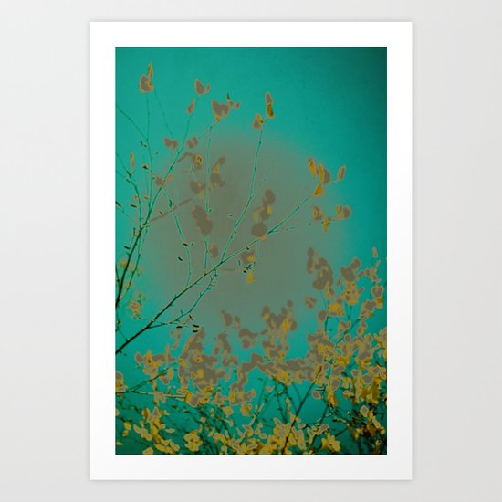 On the Other Side of Love Art Print