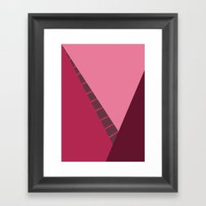 Cherry Abstract Framed Art Print