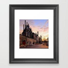 Industrial Landmark Framed Art Print