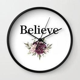 Creer Wall Clock