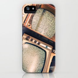 Television Hoarding iPhone Case