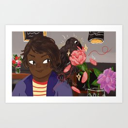 The Enchanted Flower Art Print